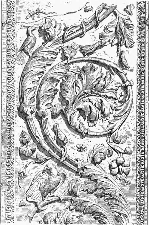 Chapter architectural carving of the renaissance