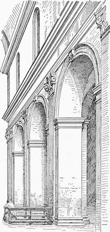 Roman Architecture Drawing