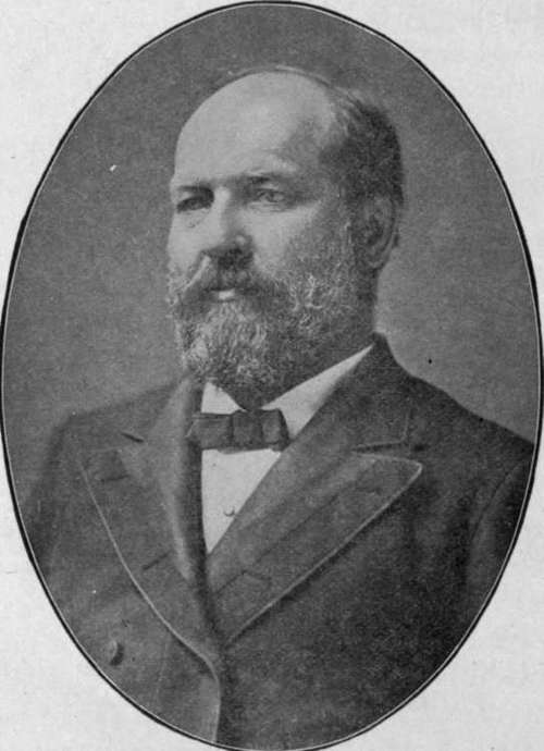 a biography of james a garfield born in cleveland oh