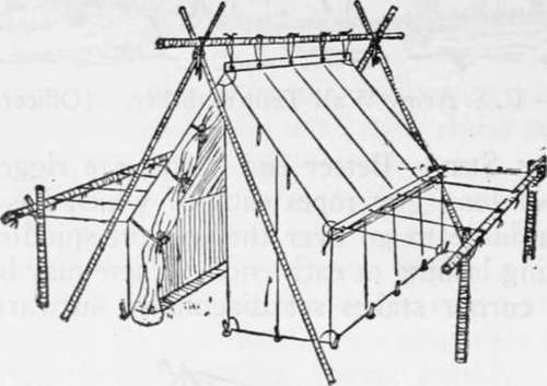 Wall Tent on Shears with Guy Frame.  sc 1 st  Free Books Online & Wall Tent With Guy Frames
