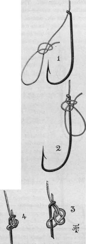 Fishing knots illustrated